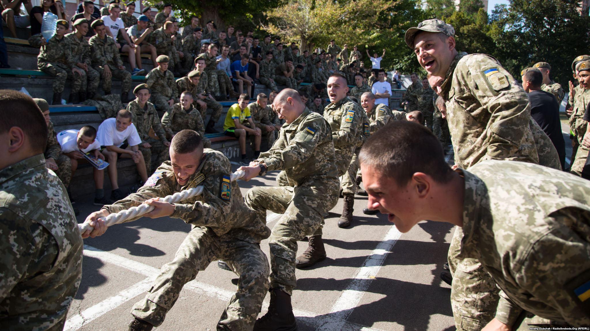 Під час змагань із перетягування каната (фотограф Андрей Дубчак / Andriy Dubchak)