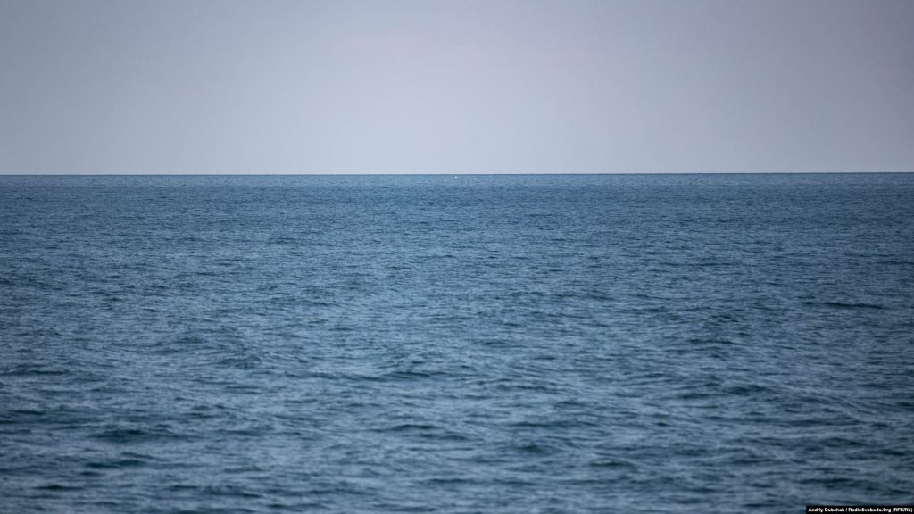Морська мішень на стрільбах, фото Андрій Дубчак