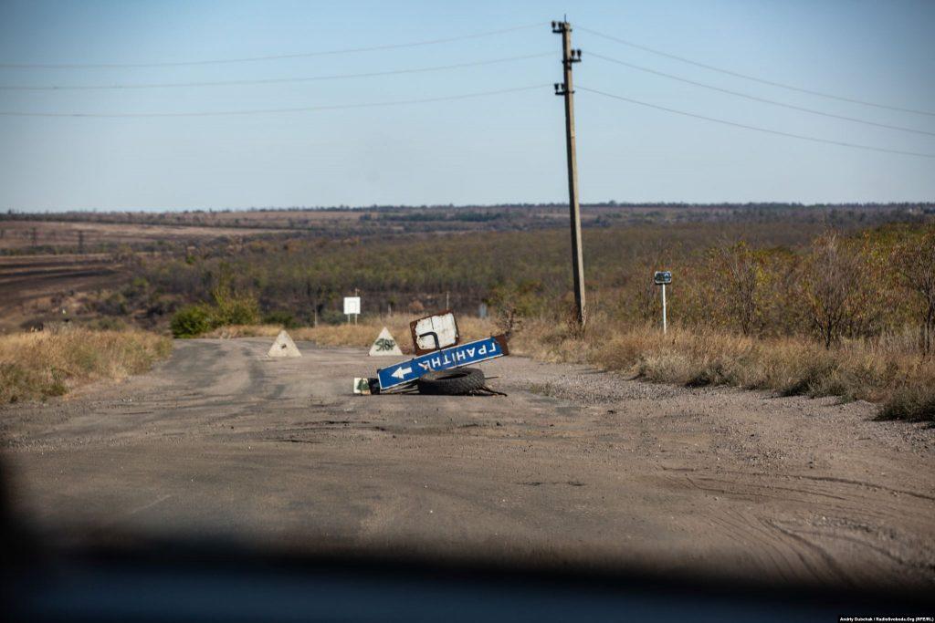 Гранітне. Війна в Україні. Діти на лінії фронту. Фото: Andriy Dubchak