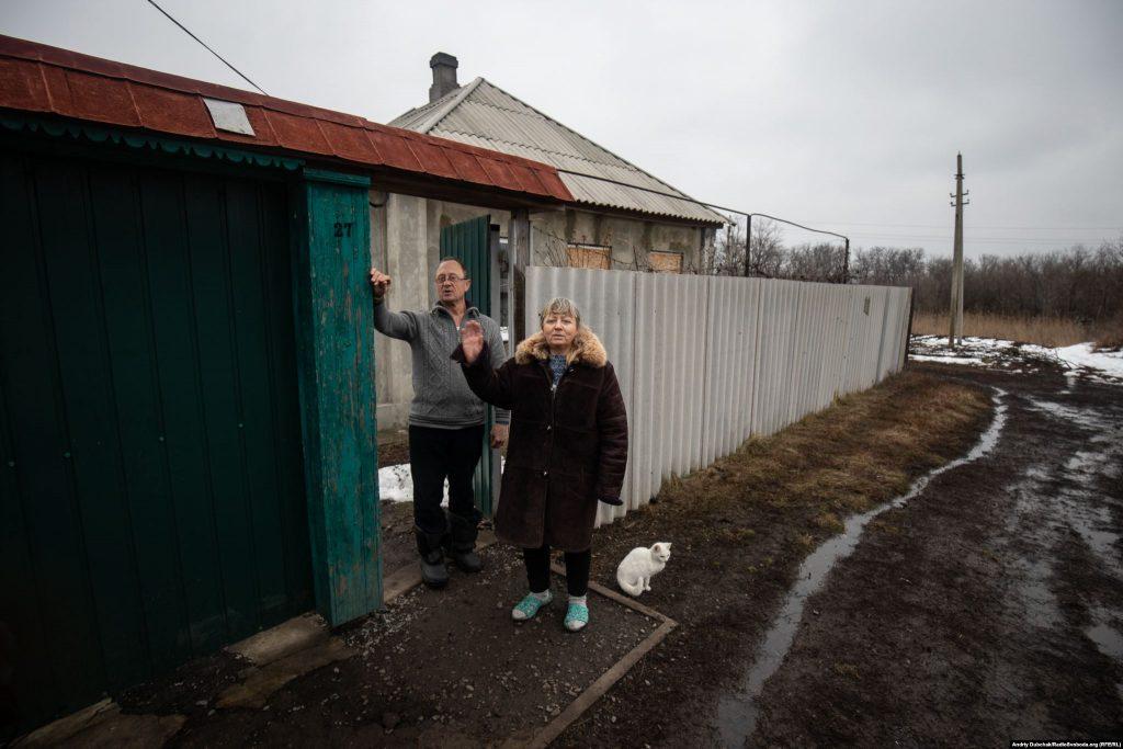 Жителі Золотого-4 – Олександр та Ніна (фото: Андрій Дубчак)